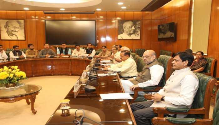 J&K को लेकर गृह मंत्रालय की अहम बैठक जारी, खुफिया एजेंसियों के प्रमुख मीटिंग में शामिल