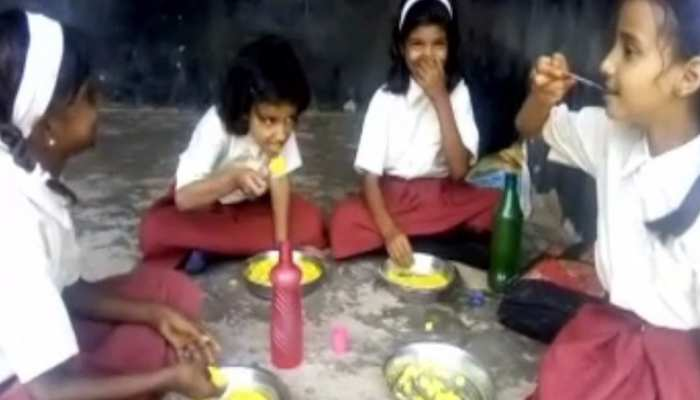 हजारीबाग: मिड डे मील में घोटाला, स्टोर में अनाज फिर भी बच्चों को नहीं मिला खाना