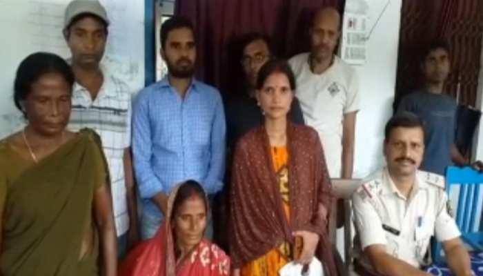 बिहार: 12 साल बाद परिवार से मिली महिला, घरवालों के खुशी से छलक पड़े आंसू