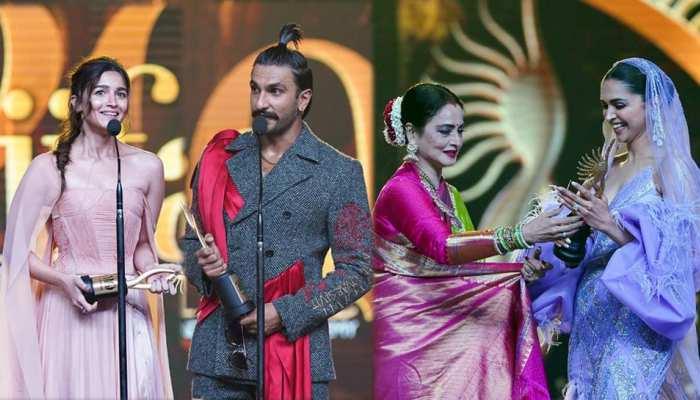 IIFA Awards 2019: आलिया-रणवीर बने Best Actors, दीपिका को मिला स्पेशल अवॉर्ड