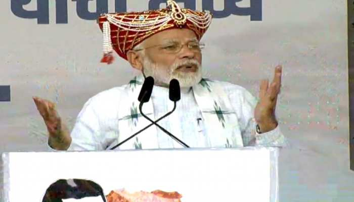 नासिक रैली: PM नरेंद्र मोदी बोले- राम मंदिर मामले पर कुछ बड़बोले लोग अड़ंगा डाल रहे