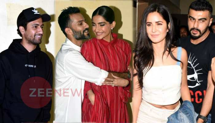 Sonam Kapoor Host The Zoya Factor Screening for Bollywood Arjun Vicky katrina spotted