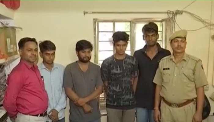 जयपुर: मालवीय नगर अपहरण मामले में 4 आरोपी गिरफ्तार, मोटरसाइकिल बरामद