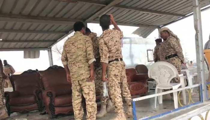 सऊदी की अगुआई में गठबंधन सेना ने यमन में हौती के ठिकानें नष्ट किए