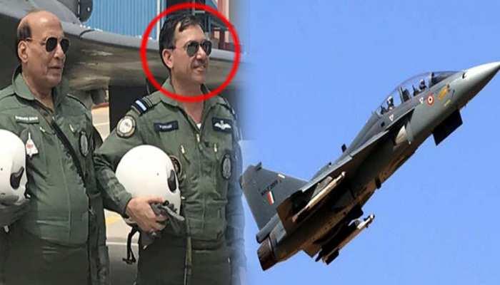 बिहार के लाल का कमाल, रक्षामंत्री के साथ उड़ाया तेजस लड़ाकू विमान, गांव में जश्न का माहौल