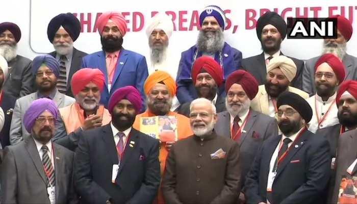 US: सिख समुदाय ने की PM मोदी से मुलाकात, IGI का नाम गुरु नानक देव एयरपोर्ट रखने की मांग