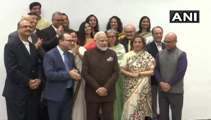 अमेरिका में कश्मीरी पंडितों ने की पीएम मोदी से मुलाकात, J&K पर फैसले के लिए किया धन्यवाद