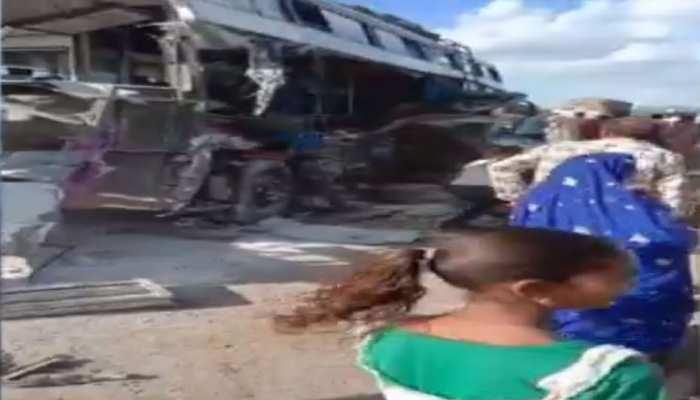 बूंदी: कोटा-दौसा मेगा हाइवे पर सड़क हादसे में 1 की मौत, 3 गंभीर घायल