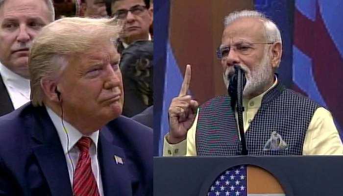 ट्रंप के सामने बोले PM मोदी, 'सारी दुनिया जानती है कि 9/11 और 26/11 के साजिशकर्ता कहां पाए जाते हैं'