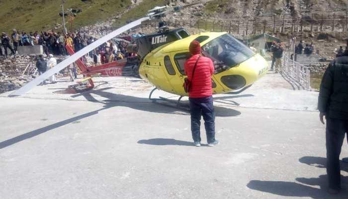 केदारनाथ में तीर्थयात्रियों से भरा हेलीकॉप्टर क्रैश, टेक ऑफ के समय हुई घटना