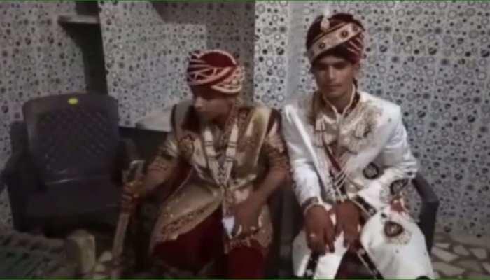 झुंझुनूं: बारिश की वजह से रूक गई शादी, दूल्हे को करना पड़ा लंबा इंतजार