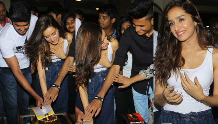 Shraddha Kapoor celebrates 'SAAHO' success with fans, see photos