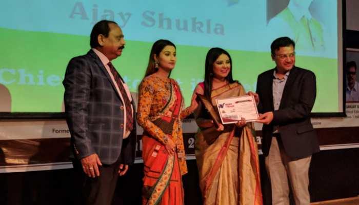 ज़ी हिंदुस्तान की पत्रकार माधुरी कलाल को 'कलम के सिपाही' सम्मान