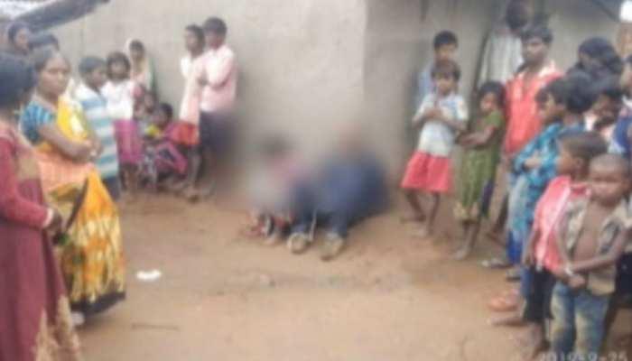 लातेहार: दो शादीशुदा प्रेमियों को ग्रामीणों ने दी सजा, चूना लगाकर पूरे गांव में घुमाया