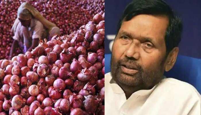 राज्यों को 15.69 रुपए प्याज बेचेगी केंद्र सरकार, दिल्ली को रोजाना 100 टन मिलेगा: पासवान