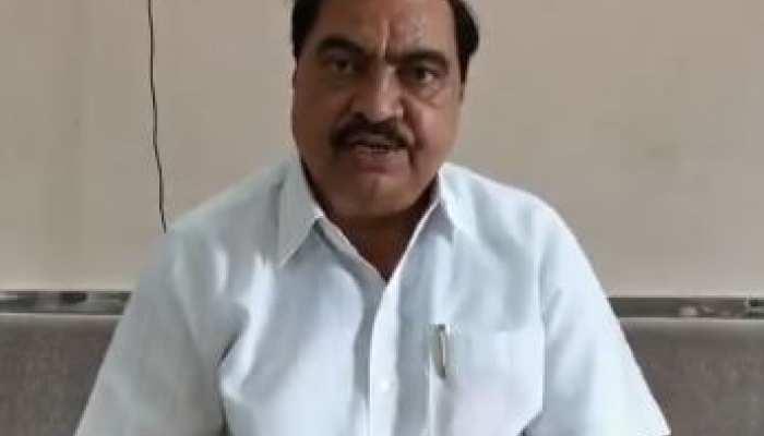 BJP नेता खड़से का दावा, कहा- 'घोटाले में शरद पवार का नाम कभी नहीं आया'