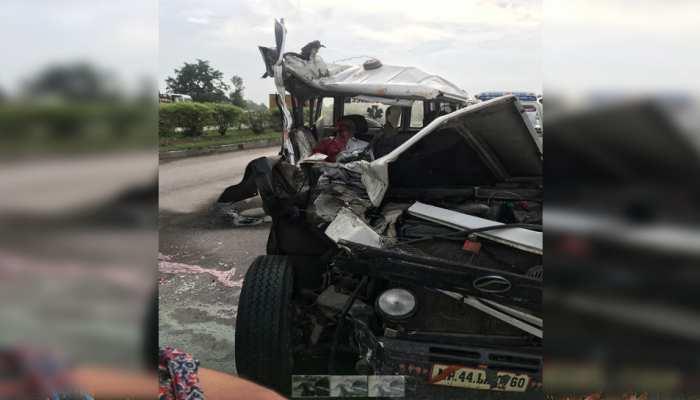 उदयपुर: चित्तौड़गढ़-उदयपुर नेशनल हाईवे पर सड़क हादसे में 2 की मौत, 3 घायल