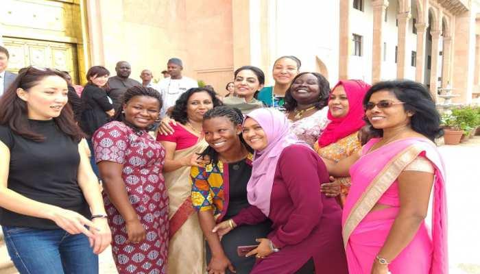 18 देशों के 45 प्रशिक्षु अधिकारी पहुंचे राजस्थान विधानसभा, जानी कार्यप्रणाली