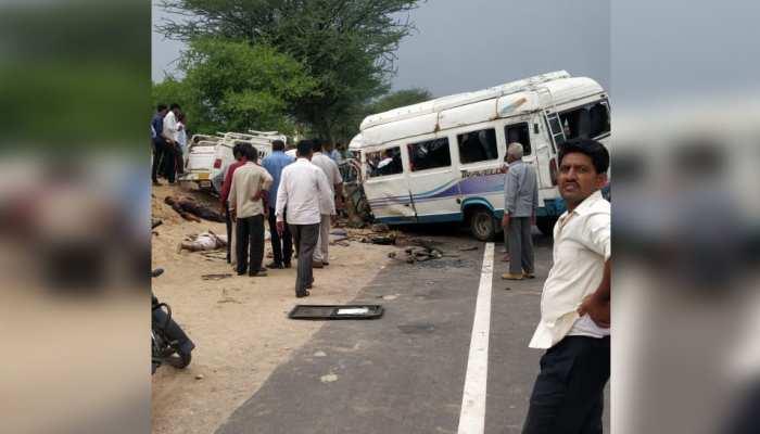 जोधपुर: भीषण सड़क हादसे में हुई 16 लोगों की मौत, दर्जनों घायल