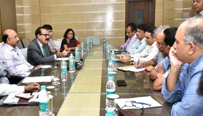 राजस्थान: प्रस्तावित इकोनॉमिक ट्रांसफॉर्मेशन कौंसिल पर मुख्य सचिव ने की बैठक, दी जानकारी