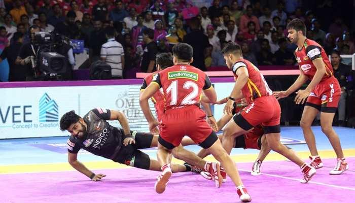 PKL 2019: बेंगलुरू बुल्स ने यू मुंबा को नहीं जीतने दिया मैच, केवल 2 अंकों से दी मात