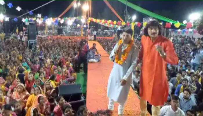 अलवर: श्री खाटू श्याम के विशाल जागरण में भक्तों की उमड़ी भीड़, माहौल हुआ भक्तिमय