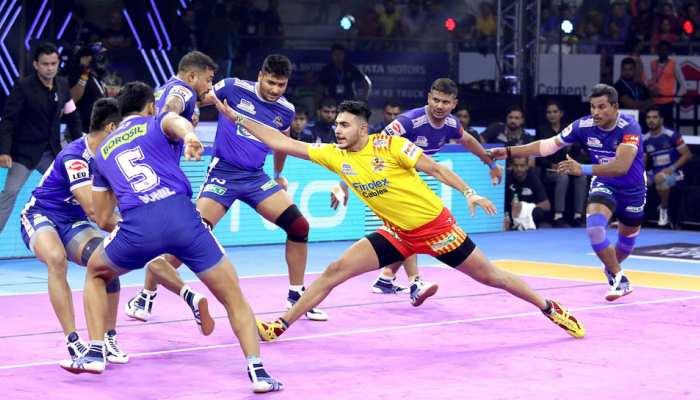 PKL 2019: नजदीकी मुकाबले में गुजरात को हराकर हरियाणा ने प्लेऑफ में बनाई जगह