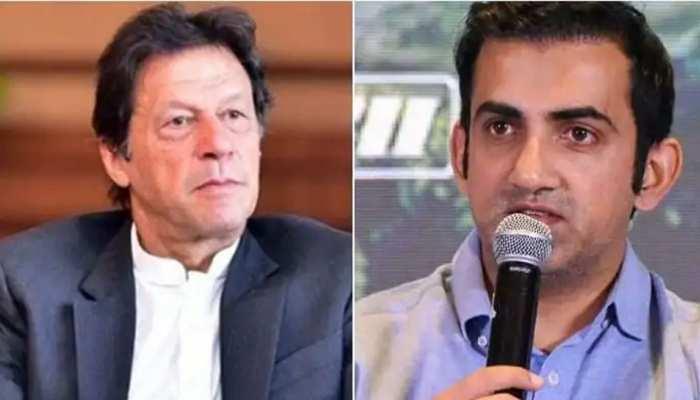 गौतम गंभीर ने इमरान खान को बताया 'आतंकियों का रोल मॉडल', कहा - खेल जगत इनका बहिष्कार करे