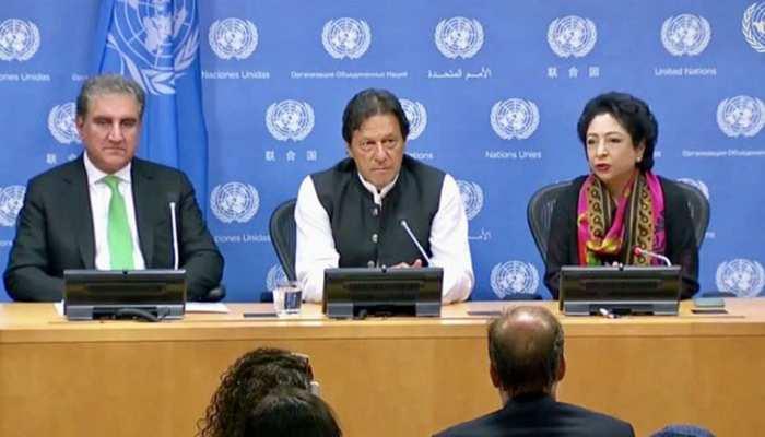 इमरान खान ने US दौरे पर हुई फजीहत का उतारा गुस्सा, यूएन में अपने स्थाई प्रतिनिधि को हटाया