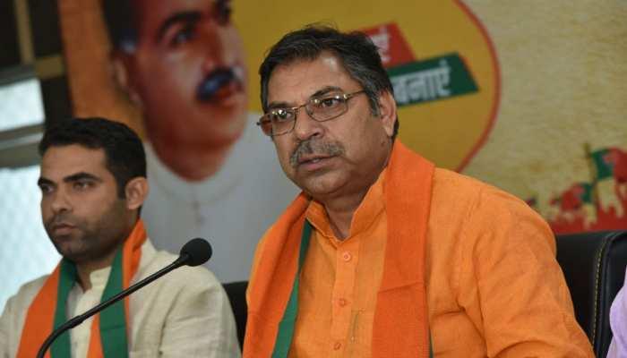 कांग्रेस को खत्म करने की महात्मा गांधी इच्छा सीएम अशोक गहलोत करेंगे पूरा: बीजेपी