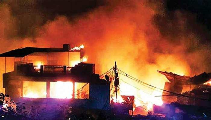जयपुर: अवैध रूफ टॉप रेस्टोरेंट में आग लगने के बाद भी नहीं खुली नगर निगम की नींद
