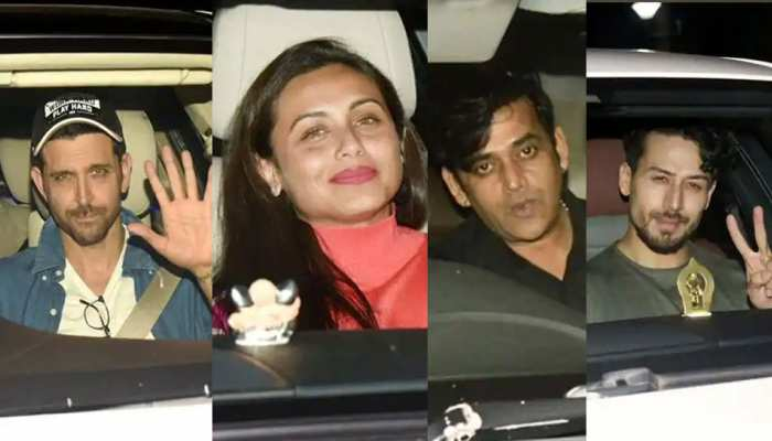 "Bollywood stars arrive at special screening of ""War"""