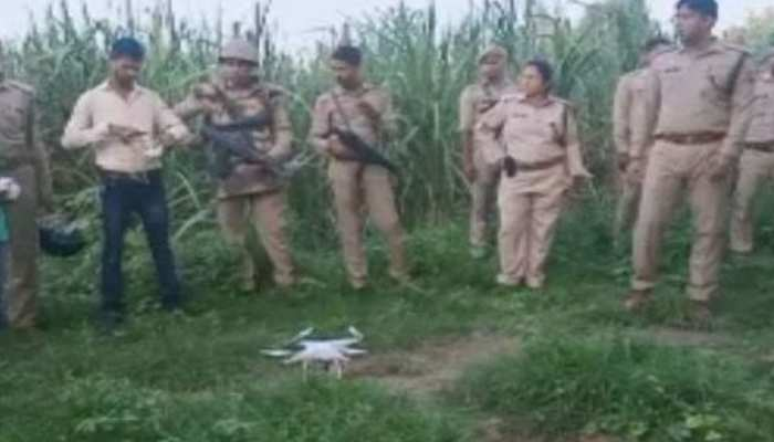 बिजनौर: ट्रिपल मर्डर के फरार आरोपी को ड्रोन के जरिए खोज रही 21 थानों की पुलिस