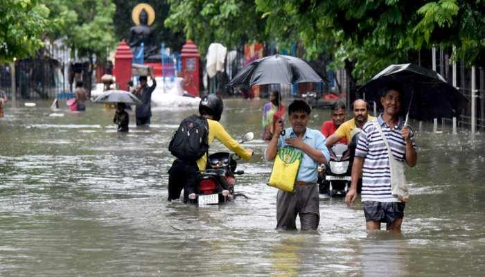 पटना: जलजमाव बनी समस्या, सिर्फ राजेंद्र नगर से पानी निकासी के लिए लगाए गए 5 मशीन