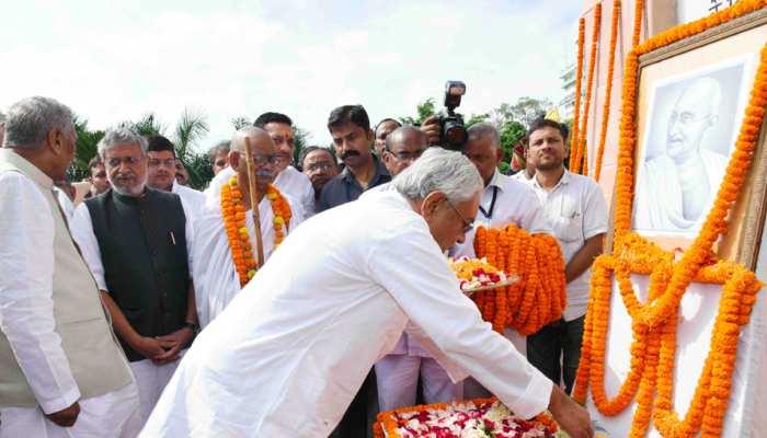 जलवायु परिवर्तन के कारण कहीं बाढ़ तो कहीं सुखाड़ की स्थिति: नीतीश कुमार