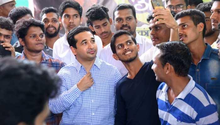 नारायण राणे के बेटे नितेश ने थामा बीजेपी का दामन, कंकावली सीट से लड़ेंगे चुनाव!