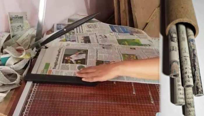 20 लाख पेंसिल बनाने में चढ़ती है 8 लाख पेड़ों की बलि, सामने आई रद्दी से बनी ईको-फ्रेंडली पेंसिल