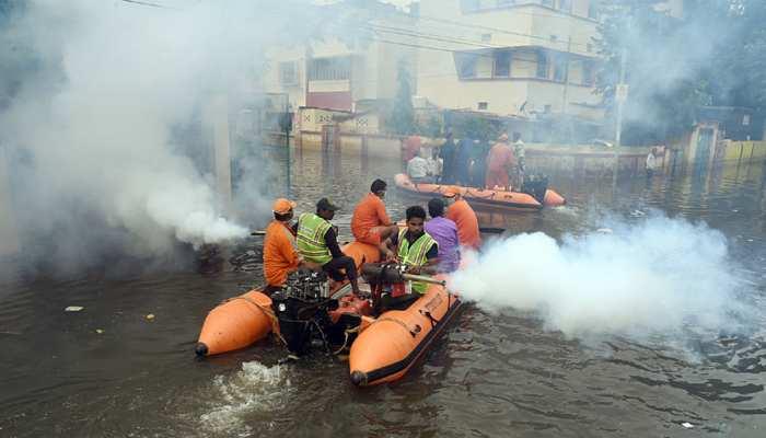 पटना के कई इलाकों में 8वें दिन भी जारी है जलजमाव, नगर निगम, BUIDCO की खुली पोल