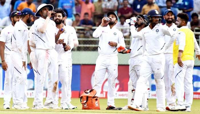 INDvsSA: भारत ने दक्षिण अफ्रीका को दिया 395 रन का लक्ष्य, एक विकेट भी झटका