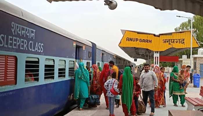 अनूपगढ़ रेलवे स्टेशन के विकास के लिए प्रतिनिधिमंडल ने DRM से की मुकालात, रखी मांग