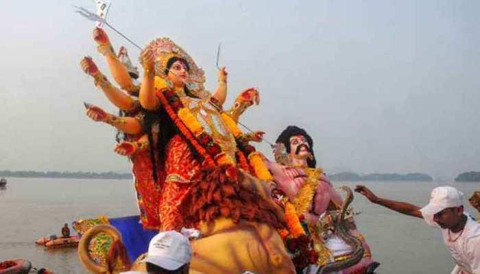 प्रयागराजः इस बार संगम नहीं अंदावा में होगा देवी प्रतिमाओं का विसर्जन, यह है कारण