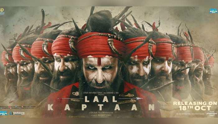 दशहरे पर रावण बन गया नागा साधू! देखिए 'लाल कप्तान' का दशानन वाला पोस्टर!