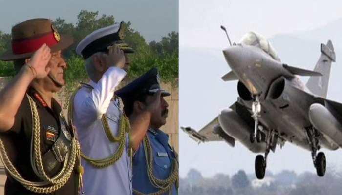 वायुसेना दिवस: आज भारत को मिलेगा पहला राफेल जेट, राजनाथ सिंह फ्रांस में करेंगे शस्त्र पूजा