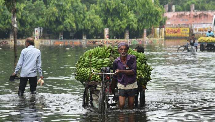 पटना: 10 दिनों के बाद भी राजेंद्र नगर के कई हिस्सों में जलजमाव, लोगों में आक्रोश