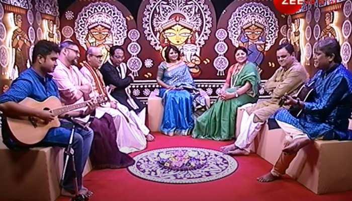 दुर्गा पूजा के बहाने क्या TMC क्या वामदल-बीजेपी, सभी नेताओं ने साझा किया मंच