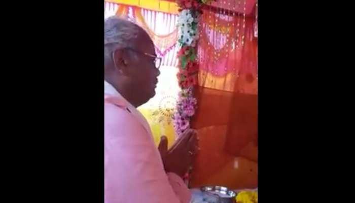 BJP विधायक की भगवान से अजीबोगरीब प्रार्थना, 'जो कूड़ा फैलाए उसके हाथ पैर तोड़ देना'!