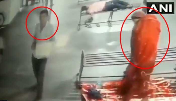 मुरादाबाद: बस अड्डे से 8 महीने के बच्चे की चोरी, CCTV में कैद हुई घटना, देखें VIDEO