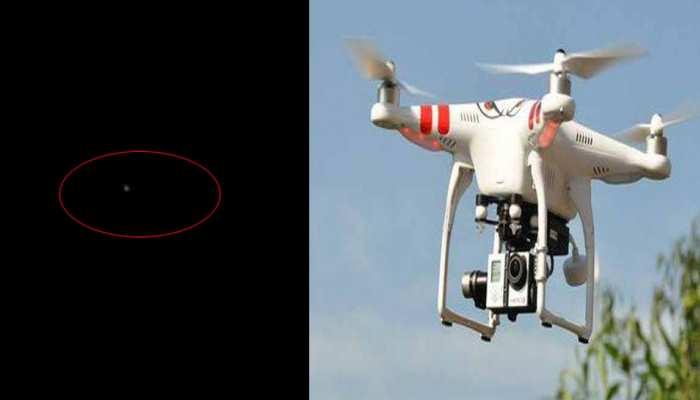 महीने में तीसरी बार दिखे पंजाब में पाकिस्तानी ड्रोन