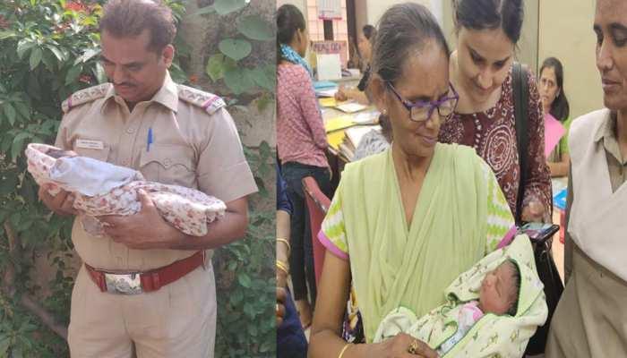 मां दुर्गा की मूर्ति विसर्जन के दौरान लावारिश मिली 1 दिन की बच्ची, पुलिस ने नाम रखा- दुर्गा