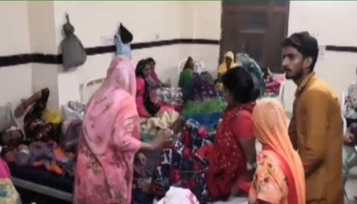राजस्थान: महिलाओं को नहीं मिल रहीं स्वास्थ सुविधा, 2 प्रसुताओं को एलॉट हुआ 1 बेड